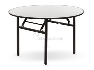 میز 8 نفره دایره تاشو رینو قطر 180 سانت