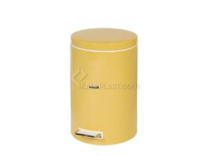 سطل زباله رنگی پدال دار 8 لیتری مدل A30