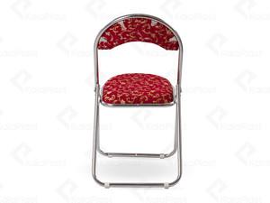 صندلی بدون دسته فلزی تاشو هلالی