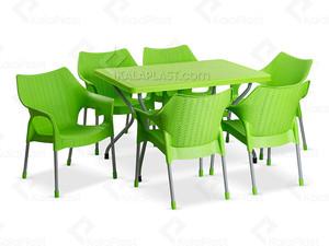 ست میز و صندلی موکا کد 991621