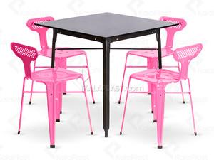 ست میز و صندلی فلزی ریو 750150