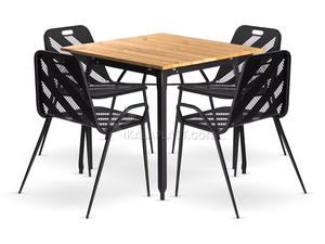 ست میز و صندلی فلزی نانت 754151
