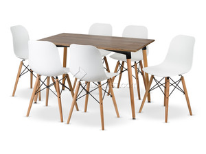 ست میز و صندلی 6 نفره ایمیز