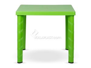 میز 4 نفره مربع با چهارپایه لوله ای پلاستیکی کد 823
