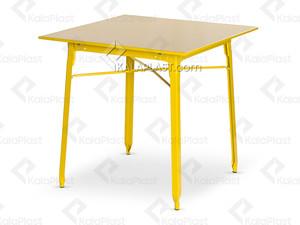 میز فلزی با رویه فلزی ساده