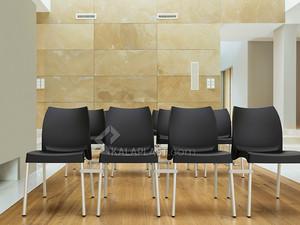 صندلی بدون دسته هارمونی با پایه آلومینیومی کد 801