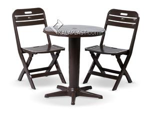ست میز و صندلی 2 نفره تراس کد 109202