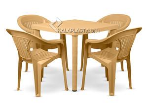ست میز و صندلی 4 نفره ارکیده کد 868823