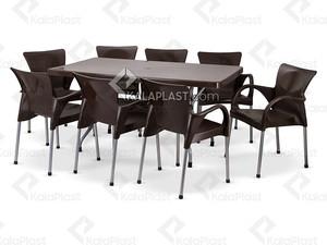 ست میز و صندلی 8 نفره شانتو کد 110920