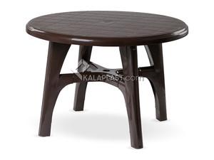 میز گرد پلاستیکی با پایه های متصل کد 205