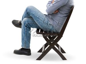 صندلی تاشو پلاستیکی تراس کد 835