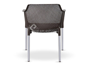 صندلی دسته دار پایه فلزی مبلی نت کد 180