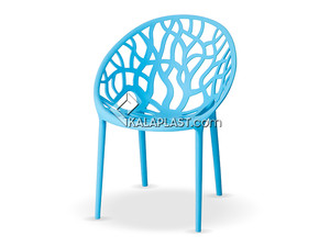 صندلی پلی کربنات کریستال