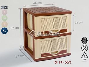 فایل پلاستیکی دل آسا D119-XY