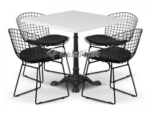 ست میز و صندلی مدرن درختی