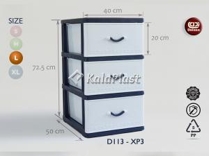فایل 2 طبقه بزرگ طرح گرانیتی دل آسا D113-XP2