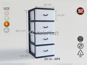 فایل 3 طبقه بزرگ طرح گرانیتی دل آسا D113-XP3