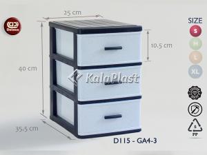 فایل کوچک طرح گرانیتی دل آسا D115-GA4-2