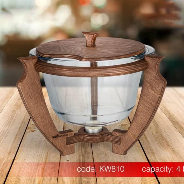 سوفله سوپ خوری چوبی SAFINOX کدKW810