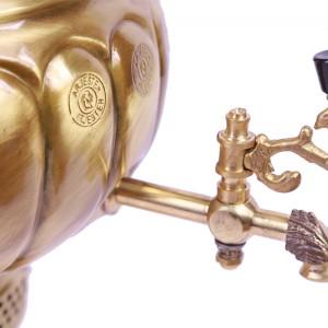 سماور 6 لیتری گازی شاندیز مدل قلم زنی