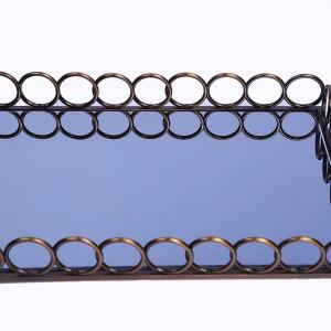 سینی آینه ای سالی نو مستطیل طرح المپیک