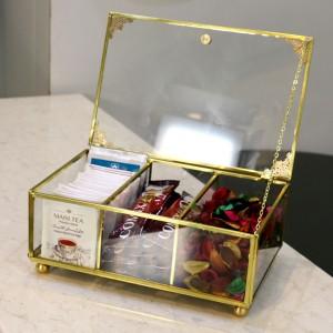 جعبه چای سه تیکه مستطیلی