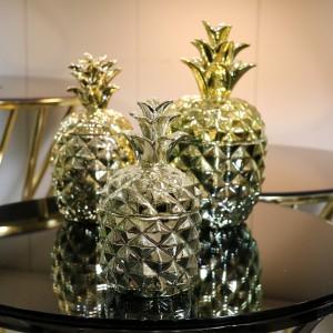 ظروف سه تیکه میوه خوری طرح آناناس