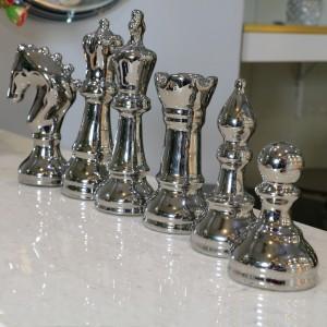 جا شمعی دکوری طرح مهره شطرنج