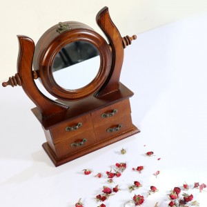ساعت آینه دار کشویی