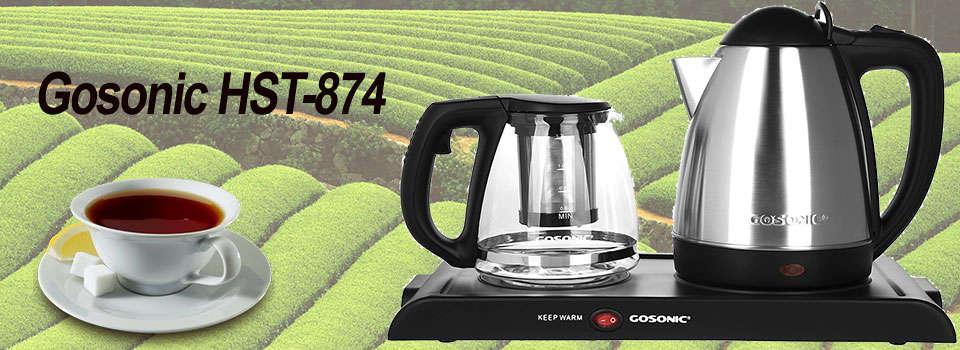 چای ساز گوسونیک مدل HST-874 نمای کلی