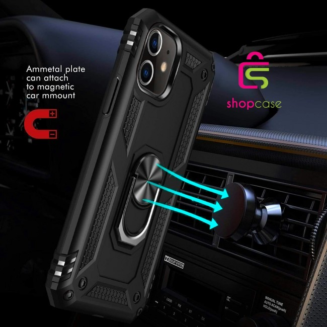کاور گوشی مدل  Military-Magnetic car case iphone11