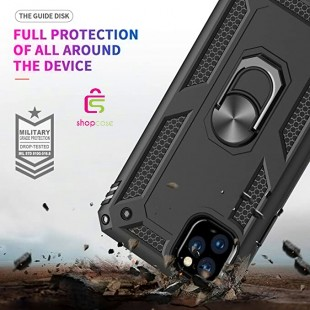 کاور گوشی مدل  Military-Magnetic car case iphone 11 pro max