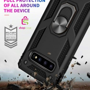 کاور گوشی مدل Military-Magnetic car case samsung S10 plus