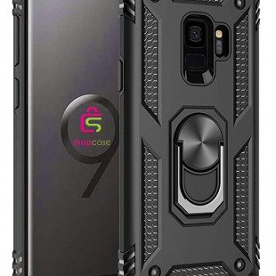 کاور گوشی مدل  Military-Magnetic car case samsung S9