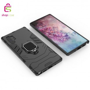کاور گوشی مدل Panter-Magnetic car case Samsung S10