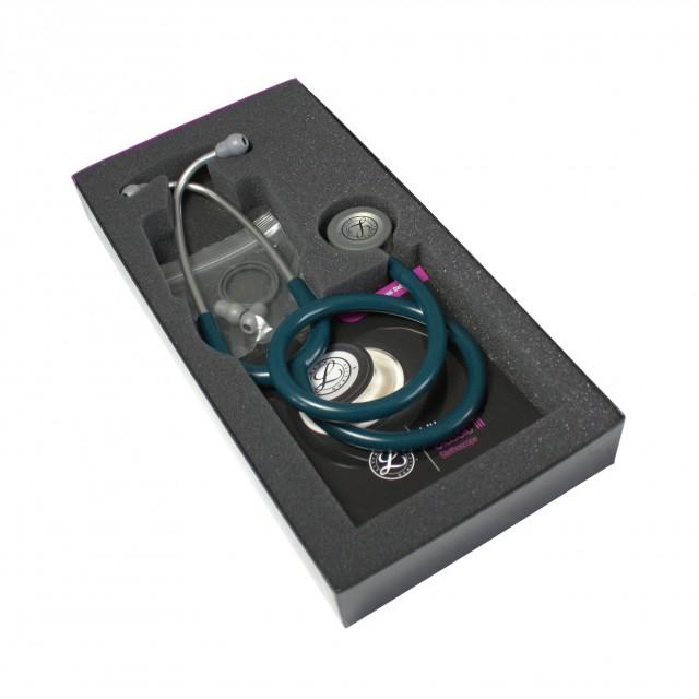 گوشی پزشکی لیتمن کلاسیک سه آبی کاربنی 5623