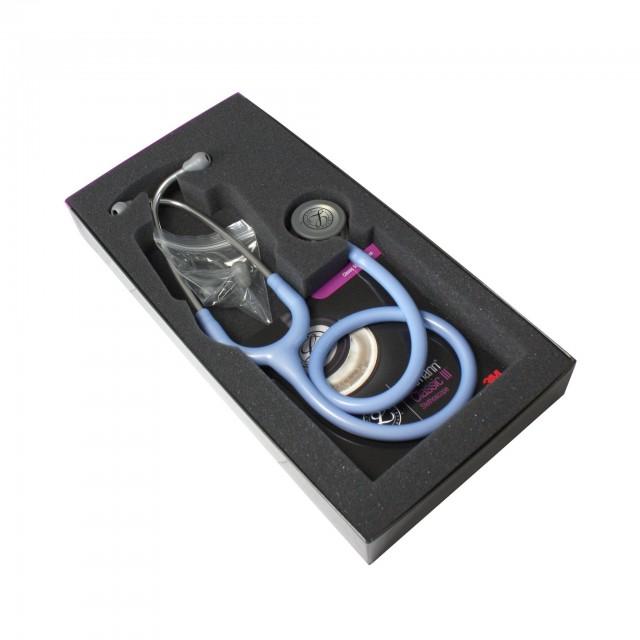گوشی پزشکی لیتمن کلاسیک سه آبی نیلی (آبی یخی) 5630