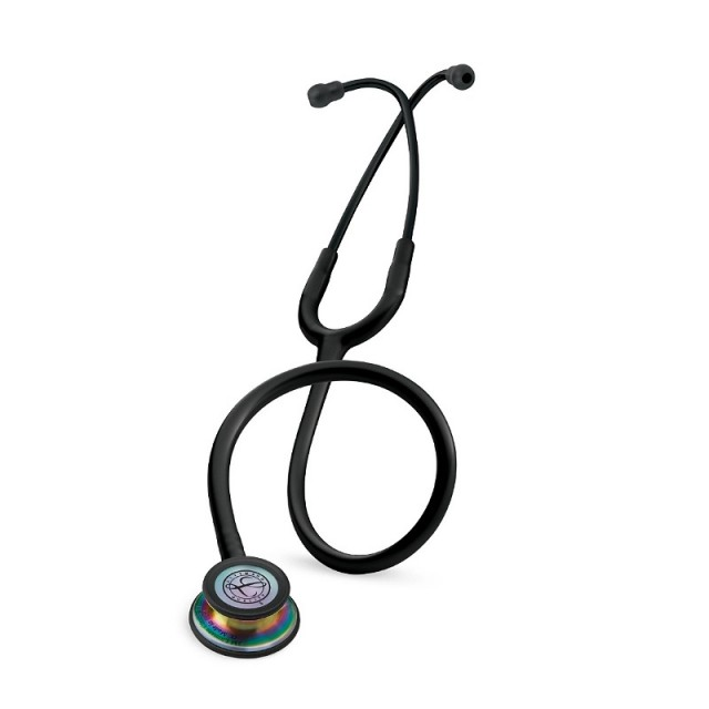 گوشی پزشکی لیتمن کلاسیک سه مشکی رنگین کمان 5870
