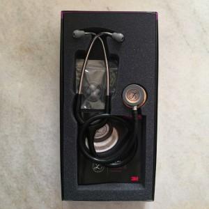 گوشی پزشکی لیتمن کلاسیک سه مشکی مسی پولیش 5646