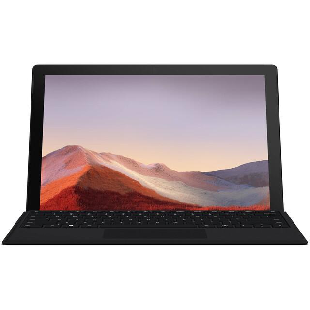 تبلت مایکروسافت مدل Surface Pro 7 - G به همراه کیبورد Black Type Cover
