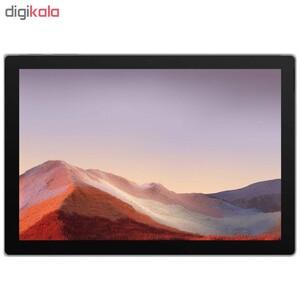 تبلت مایکروسافت مدل Surface Pro 7 - C به همراه کیبورد Black Type Cover