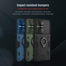 کاور نیلکین مدل Camshield Armor مناسب برای گوشی موبایل سامسونگ Galaxy S21 Ultra