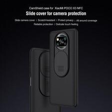 کاور نیلکین مدل Camshield مناسب برای گوشی موبایل شیائومی POCO X3 NFC
