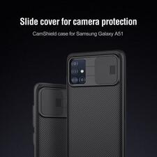 کاور نیلکین مدل CamShield مناسب برای گوشی موبایل سامسونگ Galaxy A51