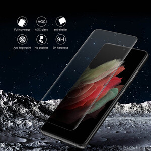 محافظ صفحه نمایش نیلکین مدل CP Plus Max مناسب برای گوشی موبایل سامسونگ Galaxy S21 Ultra