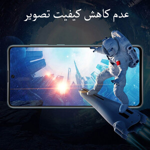 محافظ صفحه نمایش مدل FCG مناسب برای گوشی موبایل شیائومی Poco X3 Pro