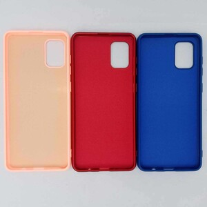 کاور مدل سیلیکونی مناسب برای گوشی موبایل سامسونگ A51