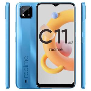 گوشی موبایل ریلمی مدل c11 2021 RMX3231 دو سیم کارت ظرفیت 32 گیگابایت و رم 2 گیگابایت