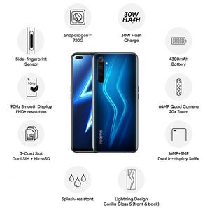 گوشی موبایل ریلمی مدل 6Pro RMX2063 دو سیم کارت ظرفیت 128 گیگابایت و رم 8 گیگابایت