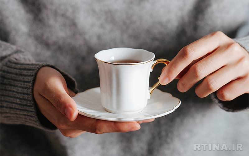 ماگ قهوه فانتزی سایزکوچک